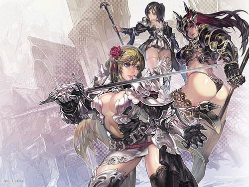 2次元 女騎士のエロ画像をはやくくれ!はやく!Fantasy が始まる! 56枚
