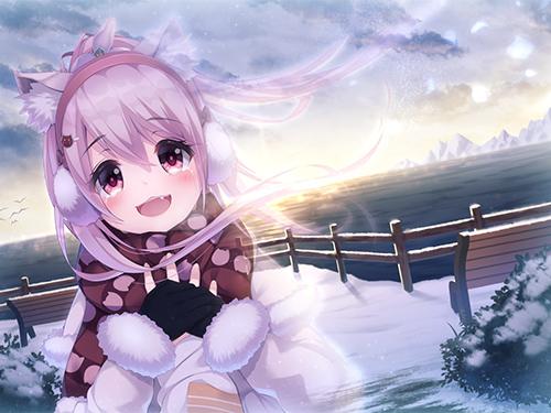 2次元 雪景色と美少女の組み合わせが良いのは確定的に明らか! 41枚 表紙