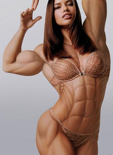 女子 の 筋肉