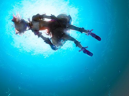 2次元 水の描写が美しい虹画像くれ 49枚