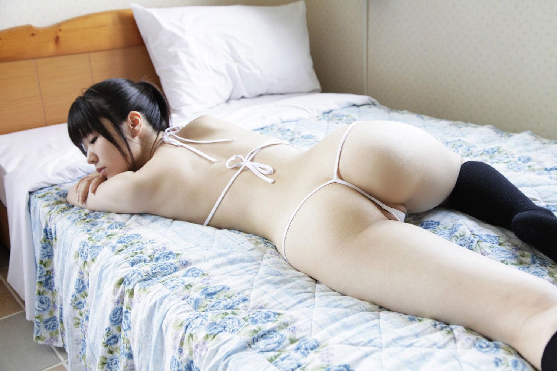 【膣内射精】盛り上がると淫語連発のパイパン妻