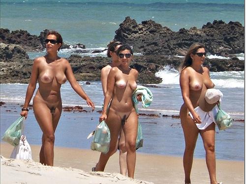 3次元 ヌーディストビーチがあったら夏は毎週通おうと思わせるエロ画像 47枚