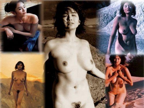 芸能人 小島聖のデカ乳Hカップにマン毛が卑猥なヘアヌードエロ画像まとめ114枚