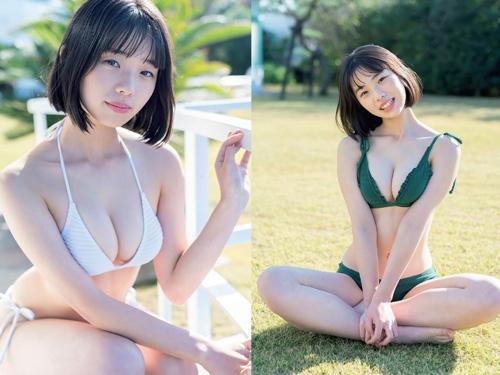 芸能人 菊地姫奈のピチピチJKボディがエッチな水着グラビアエロ画像まとめ74枚