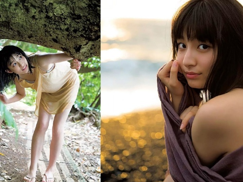 芸能人 吉川愛の清楚女優の貴重な水着グラビアエロ画像まとめ51枚