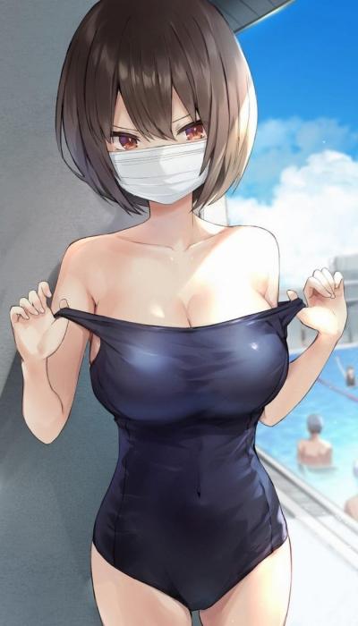 スクール水着のエロ画像006
